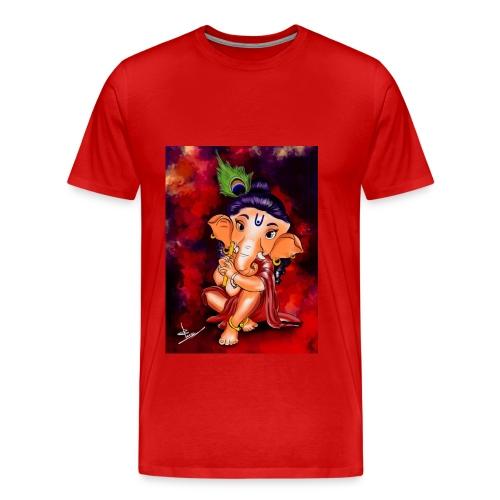 Little Ganesha - Men's Premium T-Shirt