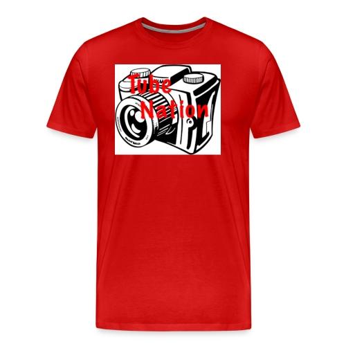 Tube Nation Camera T-shirts - Men's Premium T-Shirt