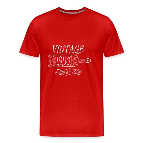 Vintage 1950 a Great Year - Men's Premium T-Shirt