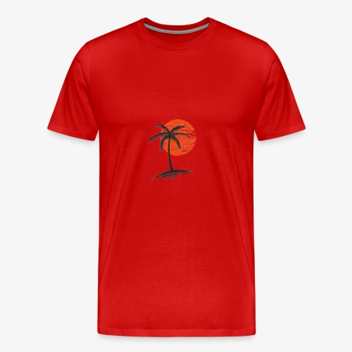 Palm Tree Original - Men's Premium T-Shirt