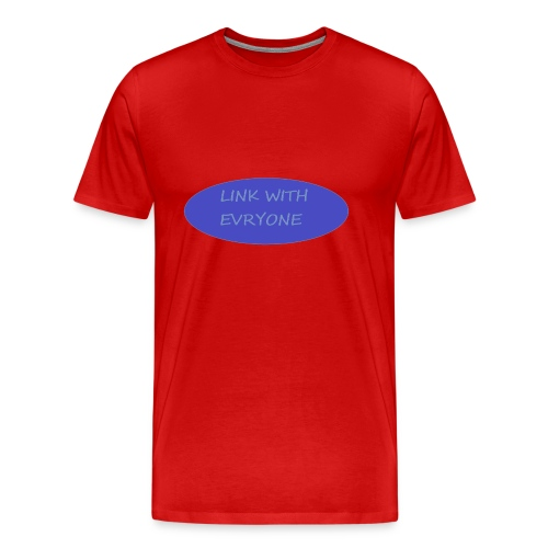 link with everyone - Men's Premium T-Shirt