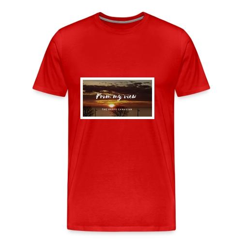THE HAPPY CANADIAN - Men's Premium T-Shirt