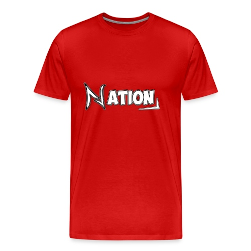 Nation Logo Design - Men's Premium T-Shirt