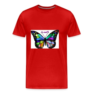 Happy Butterfly - Men's Premium T-Shirt