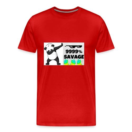savage bra - Men's Premium T-Shirt