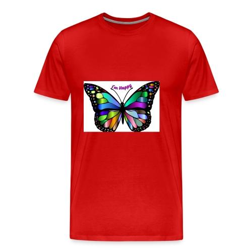 Happy Butterfly - Men's Premium T-Shirt