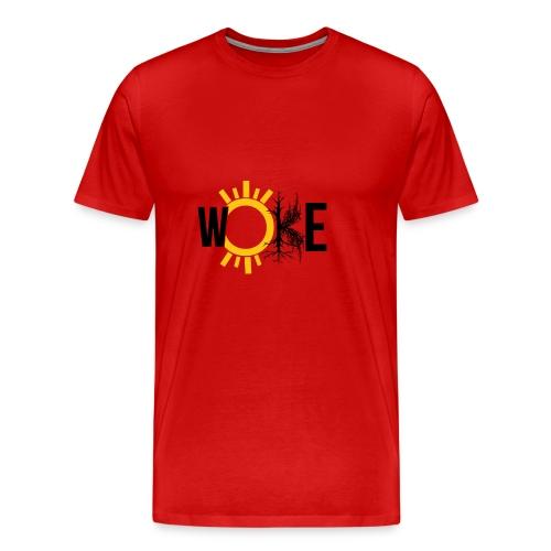WOKE - Conscious living for the free thinking - Men's Premium T-Shirt