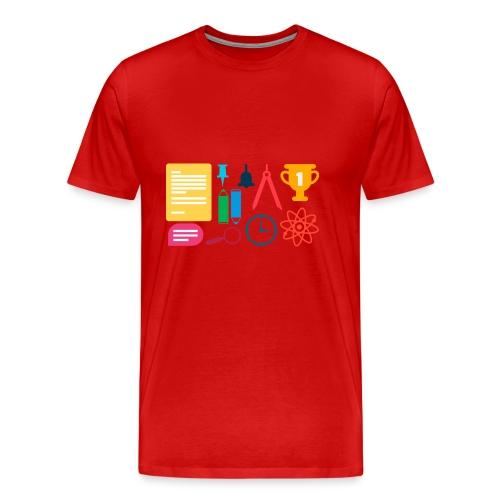 school supplies - Men's Premium T-Shirt
