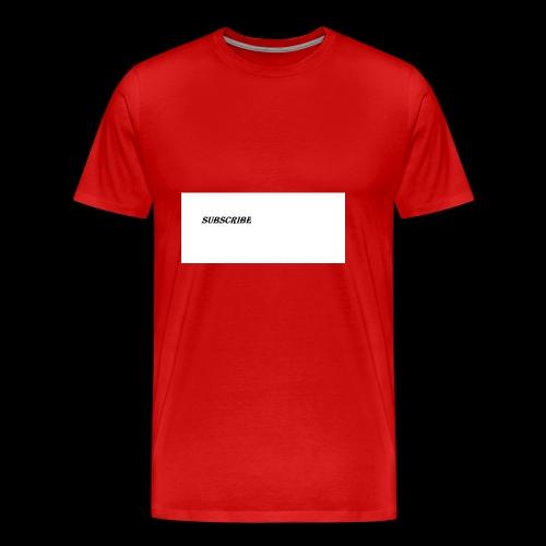 Subscribe iphone case - Men's Premium T-Shirt