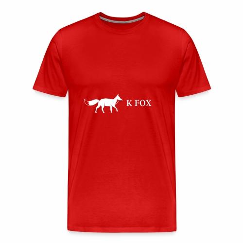 K Fox White - Men's Premium T-Shirt
