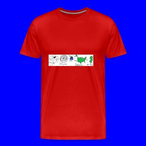 Where I am - Men's Premium T-Shirt