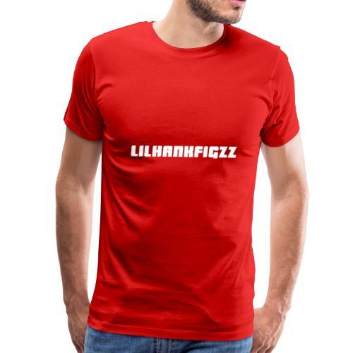 LilHankFigzz White Lowrider Font - Men's Premium T-Shirt