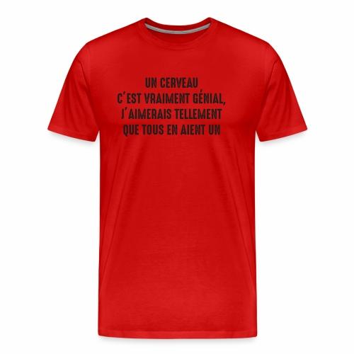 brain b - Men's Premium T-Shirt