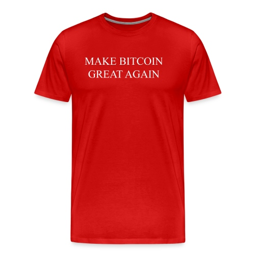 Make Bitcoin Great Again - Men's Premium T-Shirt