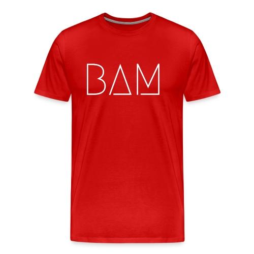 BAM - White - Men's Premium T-Shirt