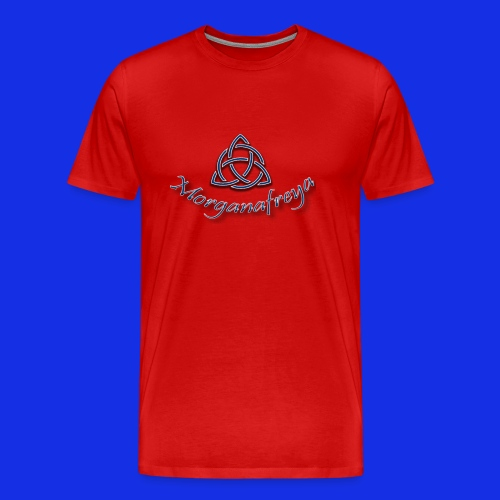Morganafreya Celtic Knot Icon - Men's Premium T-Shirt