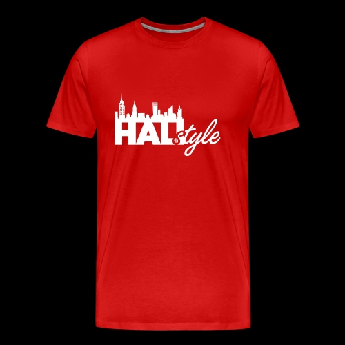 HALIStyle City Skyline - Men's Premium T-Shirt