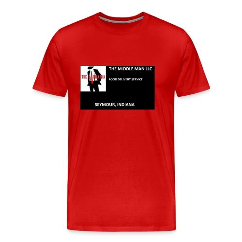 The Middle Man FDS Logo - Men's Premium T-Shirt
