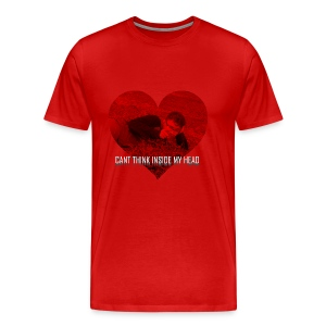 Can't Think Inside My Head - Men's Premium T-Shirt