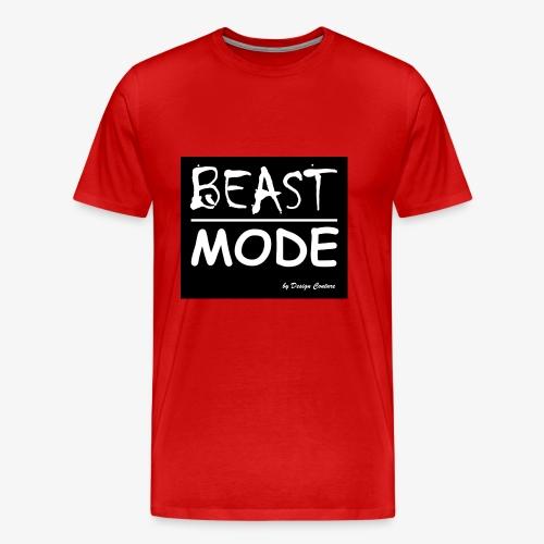 MODE, BEAST-WHITE - Men's Premium T-Shirt