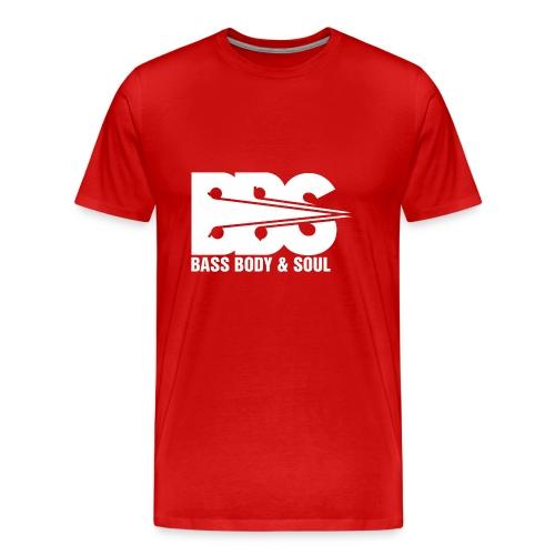 Bass Body and Soul logo - Men's Premium T-Shirt