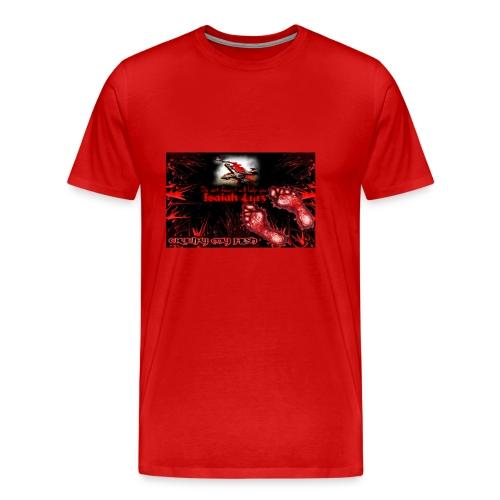 Isaiah 41:13 crucify my flesh - Men's Premium T-Shirt
