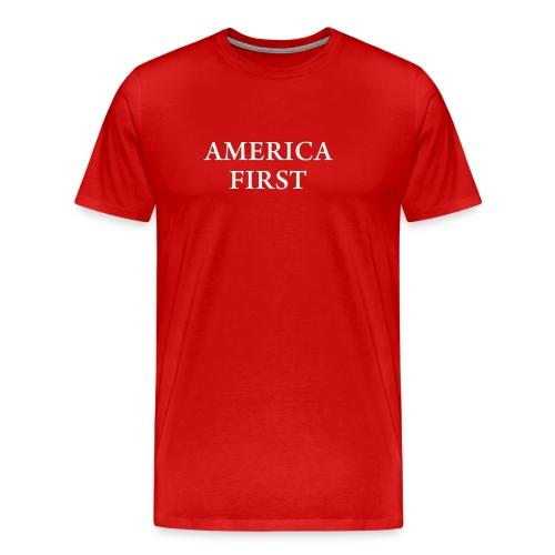 AMERICA FIRST 1Tee shirt - Men's Premium T-Shirt