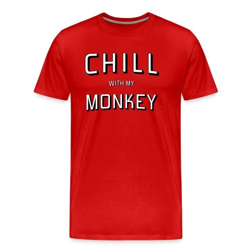 Monkey and Chill - Men's Premium T-Shirt