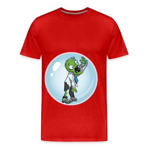 Zombie in a bubble - Men's Premium T-Shirt