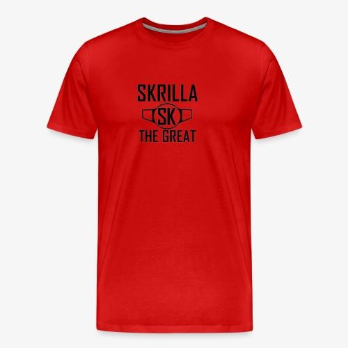 Skrilla V1 - Red - Men's Premium T-Shirt
