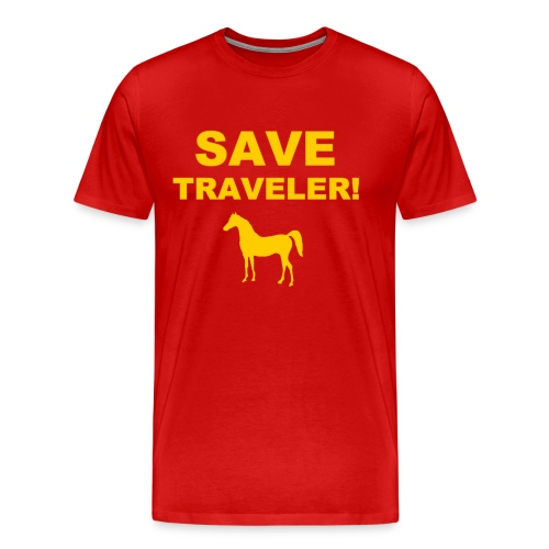 Save Traveler - Men's Premium T-Shirt