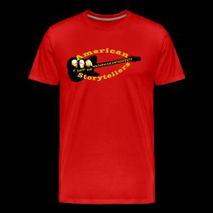 American Storytellers Guitar Logo - Men's Premium T-Shirt