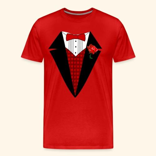 happy valentine Shirt for men - Men's Premium T-Shirt