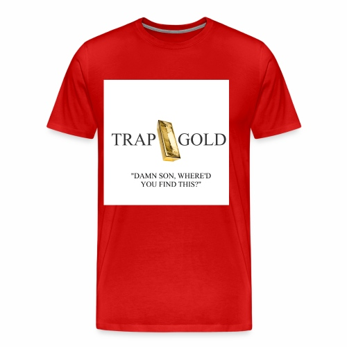 trap gold logo - Men's Premium T-Shirt