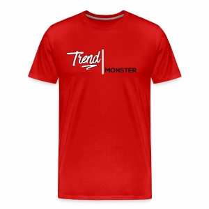 Trend Monster Squash Logo T-Shirt - Men's Premium T-Shirt