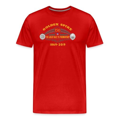 Golden Spike Color UP Logo - Men's Premium T-Shirt