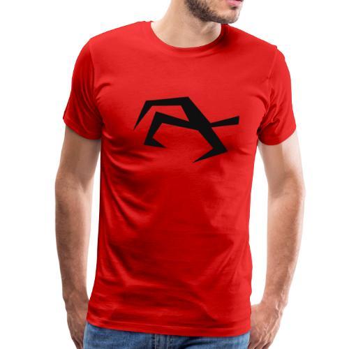 Bird Hand black - Men's Premium T-Shirt