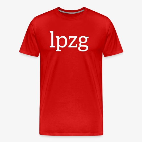 leipglo shop lpzg - Men's Premium T-Shirt