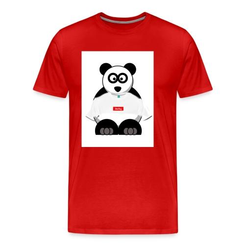 SUPRME PANDA BOX - Men's Premium T-Shirt