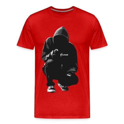 Kunce Clothing Original Hoodie Trace B/W - Men's Premium T-Shirt