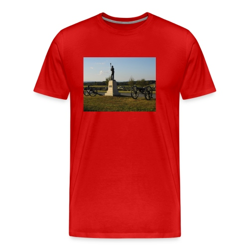 Union Artillery at Gettysburg - Men's Premium T-Shirt