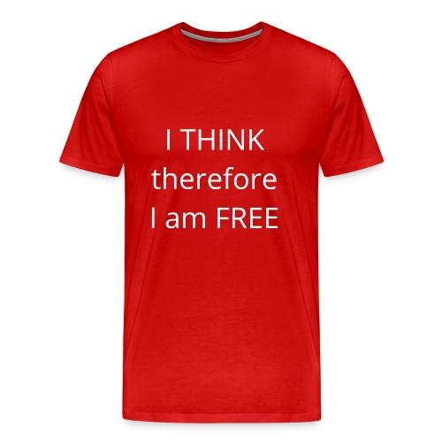 Freethinker - Men's Premium T-Shirt