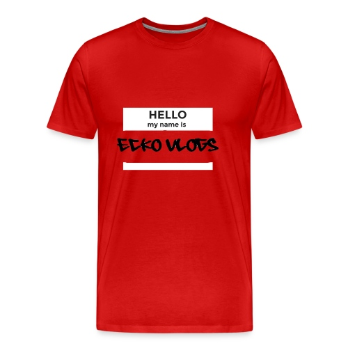 Hello my name is... - Men's Premium T-Shirt