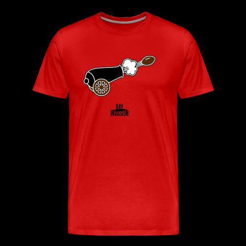 Cannon Fire - Tampa Bay Football - Bay Invasion - Men's Premium T-Shirt