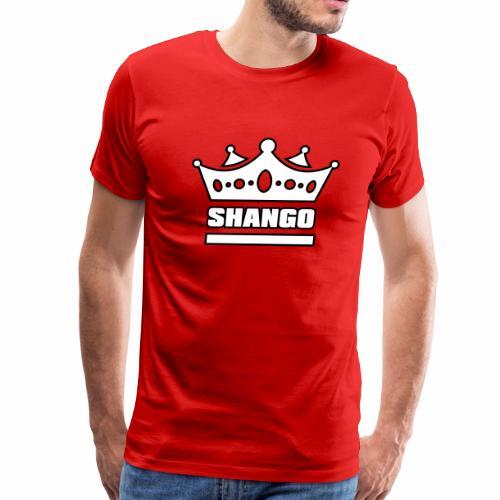 Shango Yoruba King 4W - Men's Premium T-Shirt