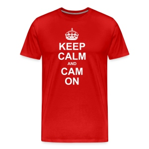 Keep Calm And Cam On - Men's Premium T-Shirt