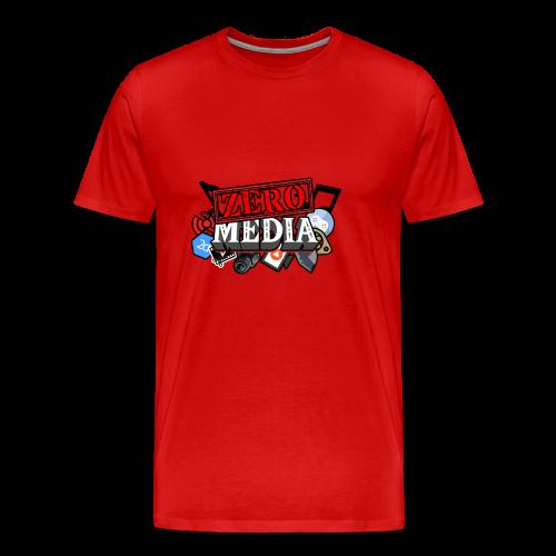 ZeroMedia SHIRT - Men's Premium T-Shirt