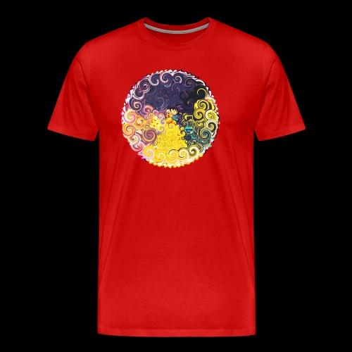 KID Goku custom artwork - Men's Premium T-Shirt