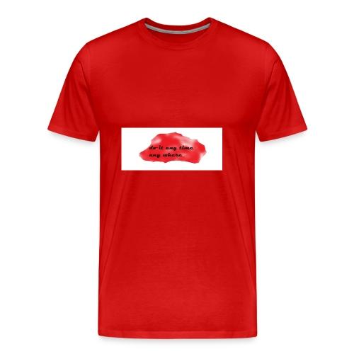 you can do it - Men's Premium T-Shirt