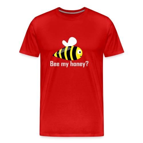 bee my honey - Men's Premium T-Shirt